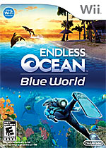 Endless Ocean: Blue World box art