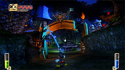Disney Epic Mickey screenshot