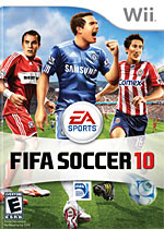 FIFA Soccer 10 box art