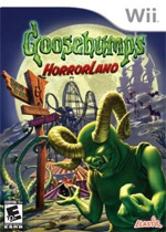Goosebumps Horrorland box art