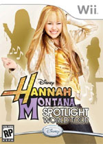 Hannah Montana: Spotlight World Tour box art