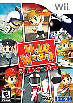 Help Wanted: 50 Wacky Jobs box art