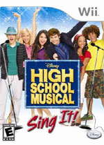 High School Musical: Sing It! box art