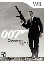 James Bond: Quantum of Solace box art