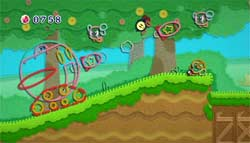 Kirby&#146s Epic Yarn screenshot