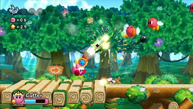 Kirby Wii Screenshot