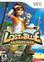Lost in Blue: Shipwrecked box art