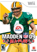 Madden NFL 09: All-Play box art