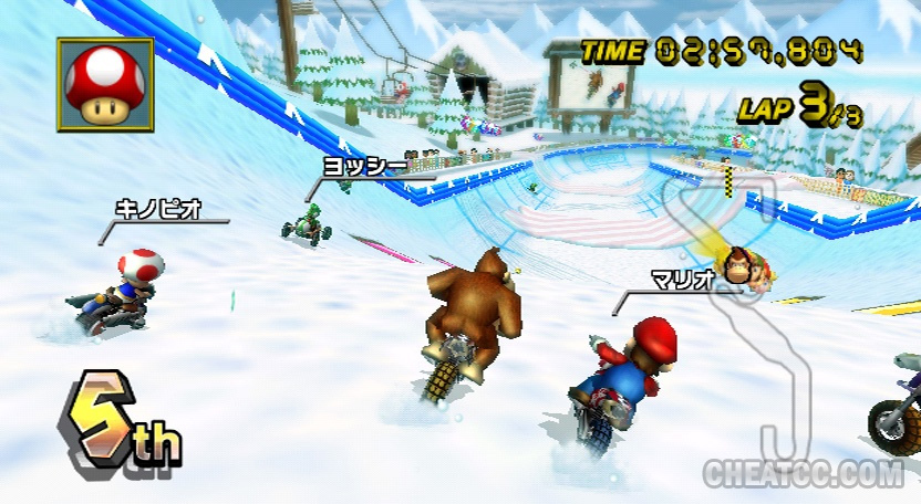 Ccc S Mario Kart Wii Launch Site Reviews Previews Cheats