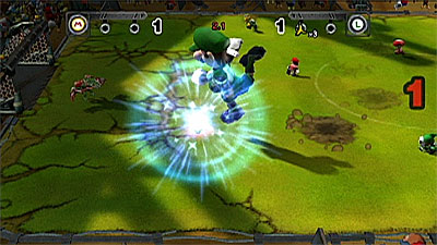 Mario Strikers: Charged screenshot