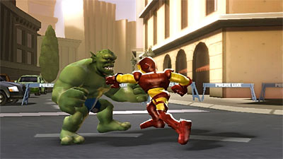 Marvel Super Hero Squad screenshot