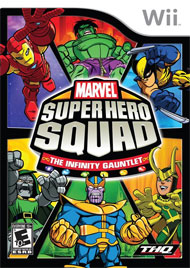 Marvel Super Hero Squad: The Infinity Gauntlet Box Art