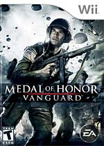 Medal of Honor: Vanguard box art