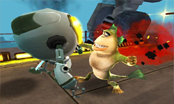 Monsters vs. Aliens screenshot