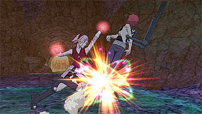 Naruto Shippuden: Clash of Ninja Revolution 3 screenshot