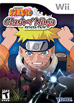Naruto: Clash of Ninja Revolution box art