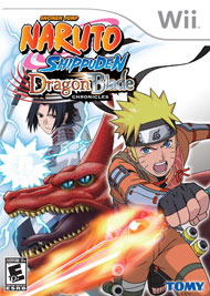 Naruto Shippuden: Dragon Blade Chronicles Box Art