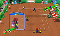 New Play Control! Mario Power Tennis screenshot