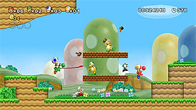 New Super Mario Bros. Wii screenshot
