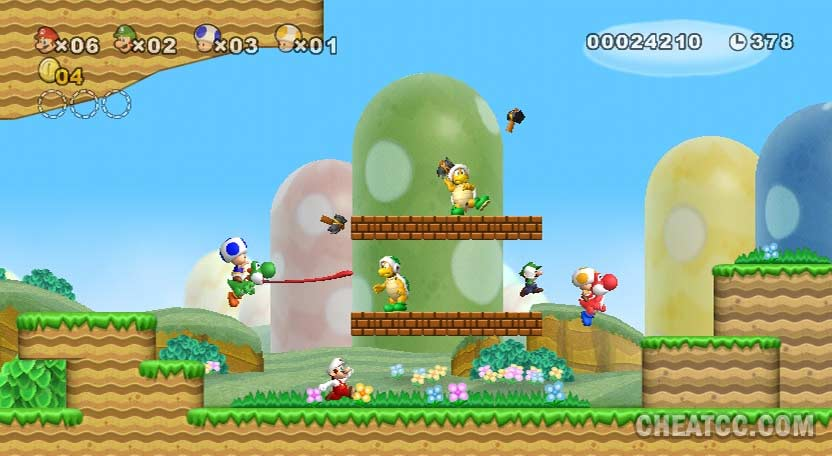 New Super Mario Bros  Wii Review for Nintendo Wii