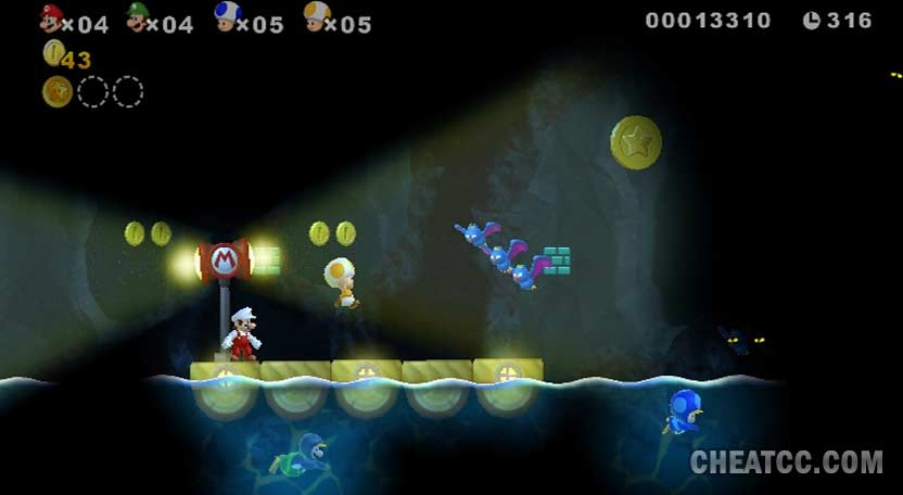 New Super Mario Bros  Wii Hands-On Preview for Nintendo Wii