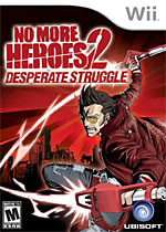 No More Heroes: Desperate Struggle box art