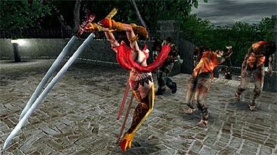 Onechanbara: Bikini Zombie Slayers screenshot