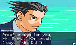 Phoenix Wright: Ace Attorney screenshot