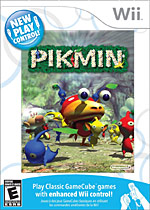 New Play Control! Pikmin box art