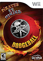 Pirates Vs. Ninjas Dodgeball box art