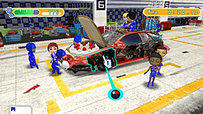 Pit Crew Panic! screenshot