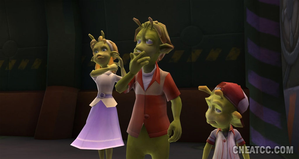 Planet 51 Review For Nintendo Wii