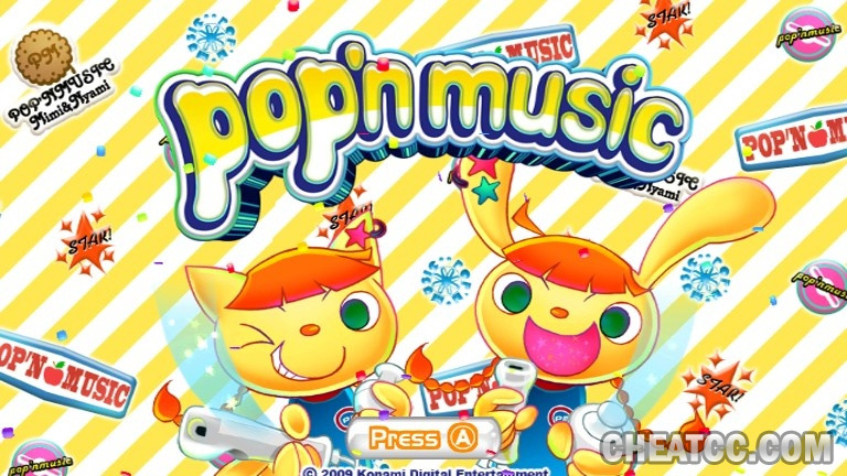 Pop'n Music Review for Nintendo Wii