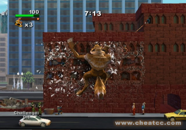 Rampage Total Destruction Review For The Nintendo Wii