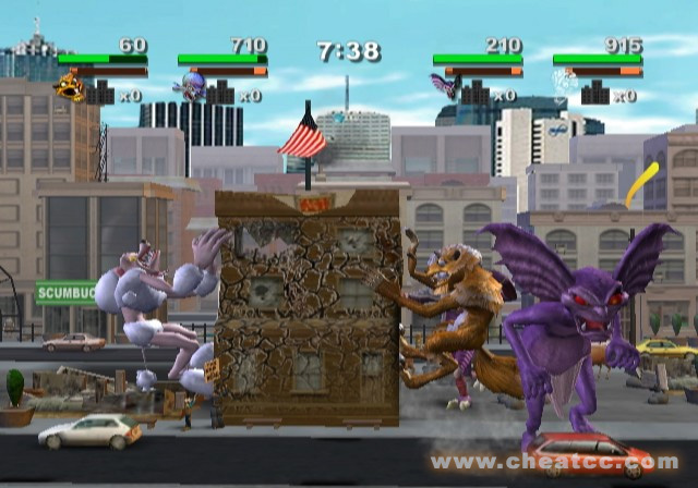 Rampage Cheat Codes Wii