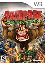 Rampage: Total Destruction box art