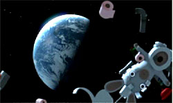Rayman Raving Rabbids 2 screenshot