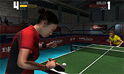 Rockstar Games presents Table Tennis screenshot