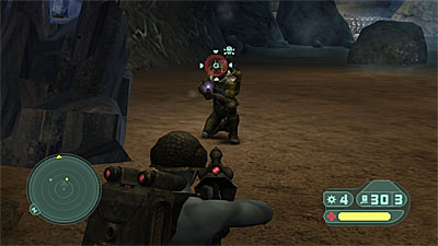 Rogue Trooper: Quartz Zone Massacre  screenshot