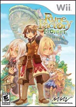 Rune Factory Frontier box art