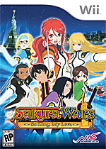 Sakura Wars: So Long My Love box art
