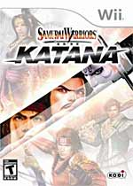 Samurai Warriors: Katana box art