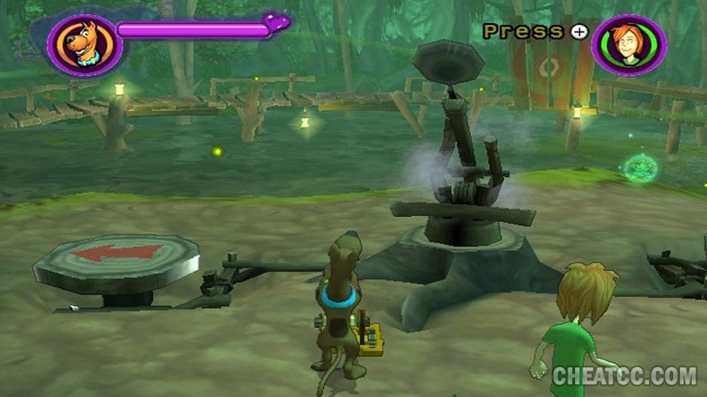 scooby-doo and the spooky swamp cheat codes pc