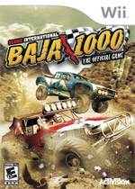SCORE International Baja 1000 box art