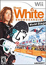 Shaun White Snowboarding: World Stage box art