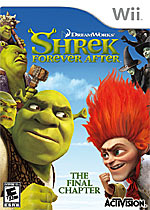 Shrek Forever After box art