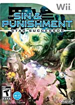 Sin & Punishment: Star Successor box art