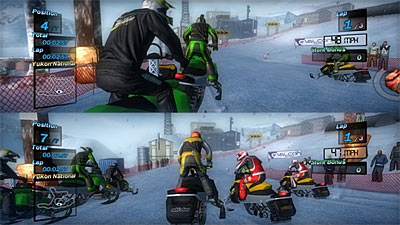 Ski-Doo Snowmobile Challenge screenshot