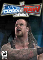 Smackdown Vs. Raw 2008 box art