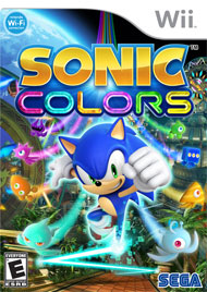 Sonic Colors Box Art
